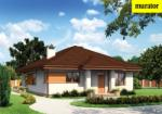 Проект одноэтажного дома   - Муратор М93б